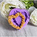 baratos Artigos de Forno-Ferramentas bakeware silica Gel Férias / Aniversário / Ano Novo para Candy Redonda Moldes de bolos 1pç