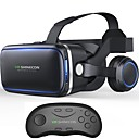 billige VR-briller-vritual reality shinecon 6.0 bluetooth headset vr briller hjelm 3d boks for 4.7-6.0 smartphones med bluetooth controller