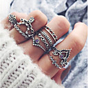 cheap Rings-Women's Knuckle Ring - Alloy Vintage, Fashion One Size Silver For Party / Daily