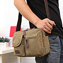 cheap Shoulder Bags-Men's Bags Canvas Shoulder Bag for Casual Brown / Green / Khaki