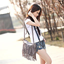 cheap Shoulder Bags-Women's Bags Suede Crossbody Bag for Casual Gray / Brown / Camel
