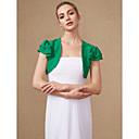 cheap Wedding Wraps-Short Sleeve Chiffon Wedding / Party / Evening Women's Wrap With Shrugs