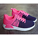 cheap Women's Sneakers-Women's Shoes Tulle Spring / Fall Comfort Sneakers Flat Heel Black / Gray / Blue