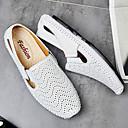 billige Slip-ons og loafers til herrer-Herre Comfort Loafers Nappa Lær Vår / Sommer / Høst Komfort En pedal Gange Gul / Brun / Blå