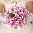זול פרח מלאכותי-פרחים מלאכותיים 1 ענף סגנון מודרני / סגנון ארופאי חבצלות פרחים לשולחן
