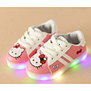 cheap Girls' Shoes-Girls' Shoes PU Spring & Summer Comfort Sneakers Walking Shoes Lace-up for White / Black / Pink