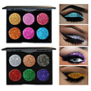 preiswerte Lidschatten-6 Farben Lidschatten / Puder EyeShadow Formaldehyd-frei Praktisch Alltag Make-up / Halloween Make-up / Party Make-up Bilden Kosmetikum / Schimmer