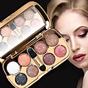 cheap Eyeshadows-8 Colors Eyeshadow Palette / Powders EyeShadow Formaldehyde Free Convenient Daily Makeup / Halloween Makeup / Party Makeup 1160 Cosmetic / Shimmer
