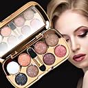 preiswerte Lidschatten-8 Farben Lidschatten / Puder EyeShadow Formaldehyd-frei Praktisch Alltag Make-up / Halloween Make-up / Party Make-up Bilden Kosmetikum / Schimmer