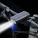 povoljno Svjetla za bicikle-LED Svjetla za bicikle Led rasvjeta LED Chip Prednje svjetlo za bicikl LED Bicikl Biciklizam Vodootporno Prijenosno Upozorenje Quick Release Li-ion 2400 lm Može se puniti Ugrađeno Li-baterije USB