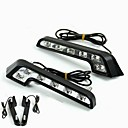 baratos Luzes LED de Automotivo-2pcs Lâmpadas 6W LED de Alto Rendimento 6 Luz Diurna For Mercedes-Benz C200 / C180 / Classic Universal