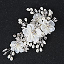 cheap Party Headpieces-Imitation Pearl / Rhinestone / Alloy Hair Clip / Hair Stick with Rhinestone / Imitation Pearl / Floral 1pc Wedding Headpiece