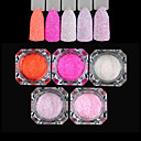 cheap Nail Glitter-Five-piece Suit Glitter Powder nail art Manicure Pedicure Classic Daily