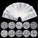 preiswerte Vollständige Nagel Aufkleber-10 pcs Aufkleber & Tapes / Nagel-Aufkleber Ordinär / Nagel-Aufkleber Nagel-Kunst-Design / Nagel-Kunstformen
