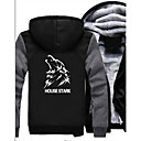 cheap Movie & TV Theme Costumes-House Stark Ugly Christmas Sweater / Sweatshirt Men's Festival / Holiday Halloween Costumes White / White Letter Euramerican
