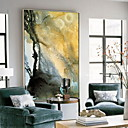 cheap Rolled Canvas Prints-Abstract Oil Painting Wall Art,Alloy Material With Frame For Home Decoration Frame Art Kitchen Dining Room