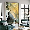 tanie Sztuka oprawiona-Streszczenie Obraz olejny Wall Art,Stop Materiał z ramą For Dekoracja domowa rama Art Kuchnia Jadalnia