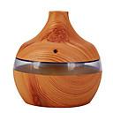 povoljno Smart Lights-mw504 woodgrain humidifier loptu humidifier kapljice vode humidifier woody aromaterapija stroj