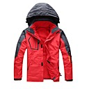 cheap Softshell, Fleece & Hiking Jackets-Unisex Hiking 3-in-1 Jackets Outdoor Winter Windproof Rain-Proof Wearable Heat Retaining Breathability Winter Jacket 3-in-1 Jacket Full