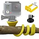 billige GoPro-tilbehør-Action Kamera / Sportskamera KIT Fleksibel klemme Utendørs Justerbar Lengde Etui Multifunksjonell Foldbar Til Action-kamera Gopro 6 Alle