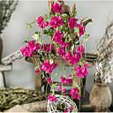 tanie Sztuczny kwiat-Sztuczne Kwiaty 2 Gałąź minimalistyczny styl Śliwka Kwiaty na ścianę