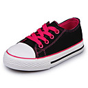 cheap Girls' Shoes-Girls' Shoes Canvas Spring & Summer Comfort Sneakers for Purple / Fuchsia / Red