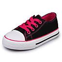 baratos Sapatos de Menina-Para Meninas Sapatos Lona Primavera Verão Conforto Tênis para Roxo / Fúcsia / Vermelho