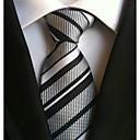 זול אביזרים לגברים-עניבת צווארון - פסים עבודה / יום יומי בגדי ריקוד גברים