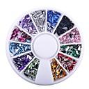 voordelige Nagelstrass & Decoraties-Nail Glitter Modieus Hoge kwaliteit Dagelijks Sieraden