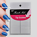 cheap Nail Stickers-112pcs professional making pattern nail art tool 2x56pcs 18