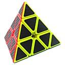 رخيصةأون مكعبات روبيك-مكعب روبيك Pyramid 3*3*3 السلس مكعب سرعة مكعبات سحرية لغز مكعب غير لامع الرياضة هدية للجنسين