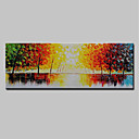 cheap Landscape Paintings-Mintura® Hand-Painted Modern Abstract Tree Oil Paintings On Canvas Wall Art Picture For Home Decoration Ready To Hang