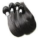 זול שזירה Remy  משיער אנושי-שיער בתולי ישר שיער ברזיאלי 400 g 12 חודשים יומי