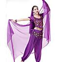 abordables Ropa para Danza del Vientre-Danza del Vientre Mujer Rendimiento Licra Velo