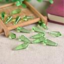 זול חרוזים-תכשיטים DIY 10 יח חרוזים זכוכית סגול ורוד ורד חום ירוק כחול בהיר טיפות חָרוּז 0.8 cm עשה זאת בעצמך שרשראות צמידים