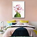 ieftine Acțibilde de Perete-Oameni Floral/Botanic Ilustrație Wall Art,PVC Material cu Frame For Pagina de decorare cadru Art Sufragerie Dormitor Bucătărie Cameră