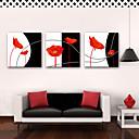 abordables Impresiones-Impresión de lienzo Rústico Modern, Tres Paneles Lona Cuadrado Estampado Decoración de pared Decoración hogareña