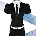 זול פאות קוספליי משחק מחשב-קיבל השראה מ ארץ הברבורים / פוספופיליט אנימה תחפושות קוספליי חליפות קוספליי אחר / סרבל תינוקותבגד גוף חגורה עבור בגדי ריקוד גברים בגדי