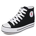 ieftine Adidași de Damă-Pentru femei Pantofi Pânză Primăvară / Toamnă Confortabili Adidași Creepers Negru / Rosu / Albastru