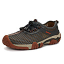 cheap Men's Sneakers-Men's Tulle Spring / Fall Comfort Athletic Shoes Hiking Shoes Orange / Gray / Blue