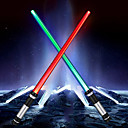 ieftine Becuri LED-YWXLIGHT® 2 buc LED-uri de lumină de noapte Multicolor Baterii AAA Powered Stres și anxietate relief Schimbare - Culoare
