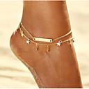 זול אביזרים לנעליים-חלק 1 מתכת מבטא כף בגדי ריקוד נשים קיץ קזו'אל זהב / כסף