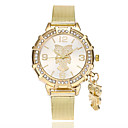 cheap Bakeware-Women's Wrist Watch Chinese Imitation Diamond Alloy Band Casual / Fashion Gold