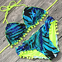 olcso Férfi bebújós cipők és papucsok-Női Boho Bikini - Nyomtatott, Virágos Merész Pánt Trokuti