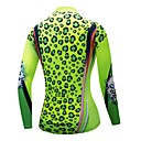 cheap Cycling Jersey & Shorts / Pants Sets-CYCOBYCO Women's Long Sleeve Cycling Jersey - Green Bike Jersey, Quick Dry, Reflective Strips Polyester