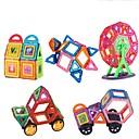 זול בלוקים מגנטיים-בלוק מגנטי אבני בניין 151 pcs רכבים מכונית בנים בנות צעצועים מתנות