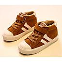 זול נעלי ילדים-בנים נעליים עור נובוק אביב / סתיו נוחות נעלי ספורט ל שחור / Wine / חאקי