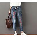 preiswerte Latein Schuhe-Damen Jeans Hose - Druck, Stickerei