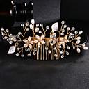 preiswerte Parykopfbedeckungen-Perle / Krystall / Aleación Haarkämme mit Strass / Kristall 1pc Hochzeit / Freizeitskleidung Kopfschmuck