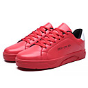 זול נעלי בד ומוקסינים לגברים-בגדי ריקוד גברים גומי אביב / סתיו נוחות נעלי אתלטיקה לבן / שחור / אדום